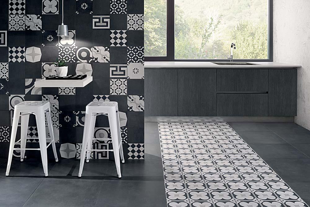 Fioranese Cementine Black & White